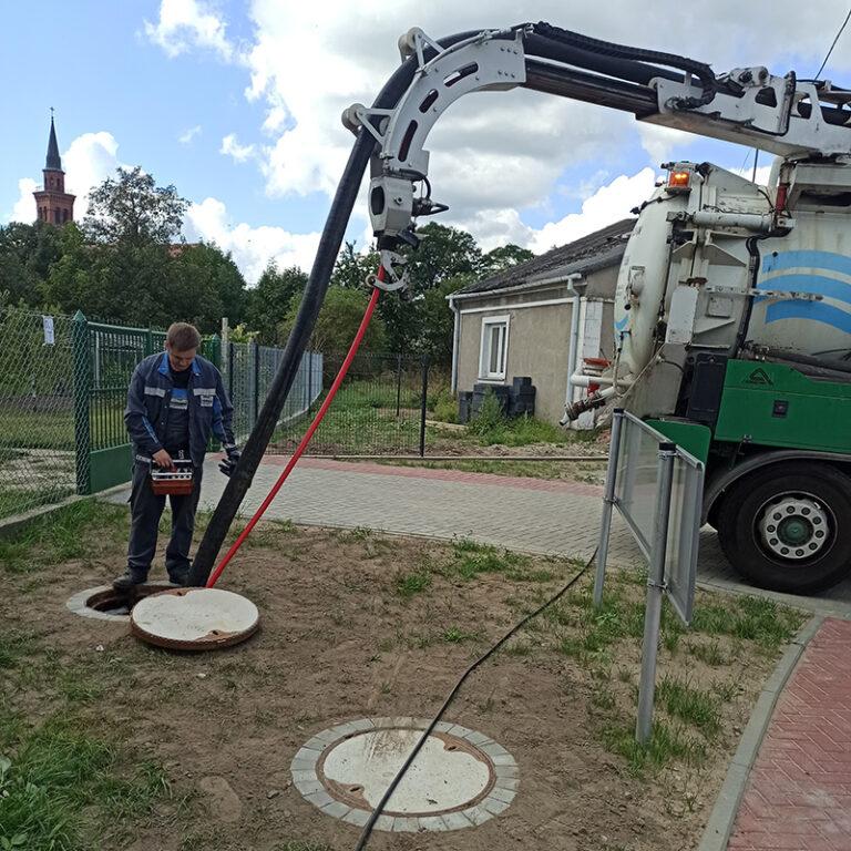 czyszczenie kanalizacji Pyś-Trans