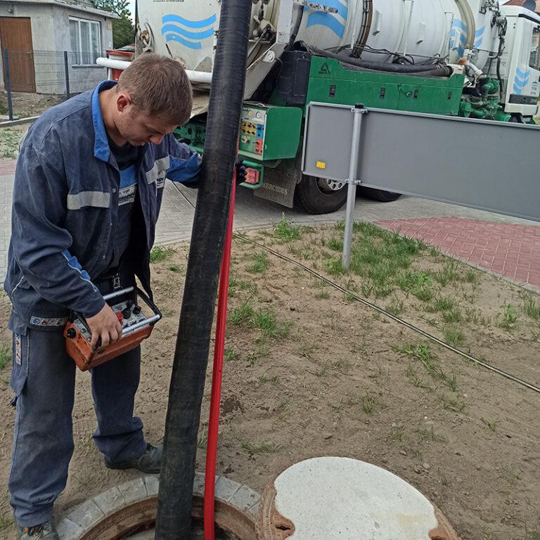 czyszczenie kanalizacji